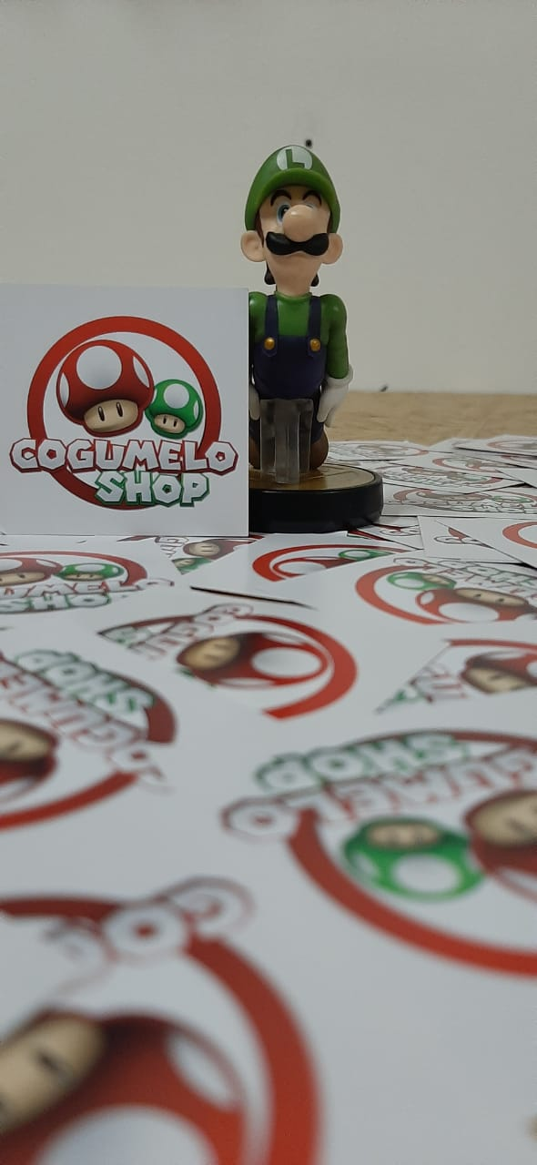 Amiibo - Luigi (Super Smash Bros. Series) - Usado