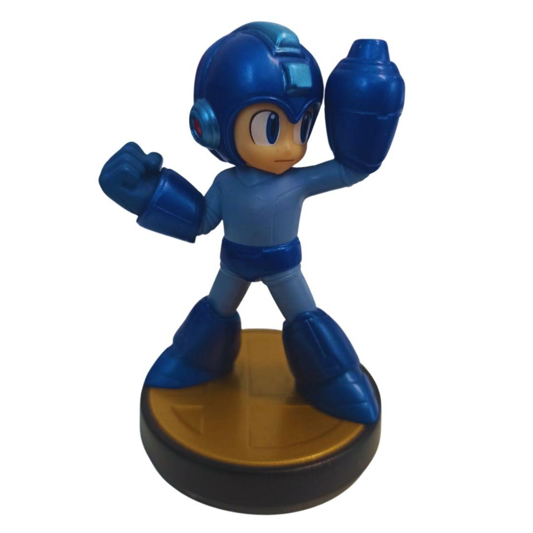 Amiibo - Mega Man - Super Smash Bros. - Usado