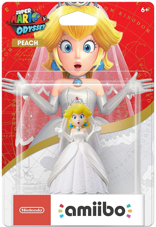 Amiibo - Peach - Mario Odyssey