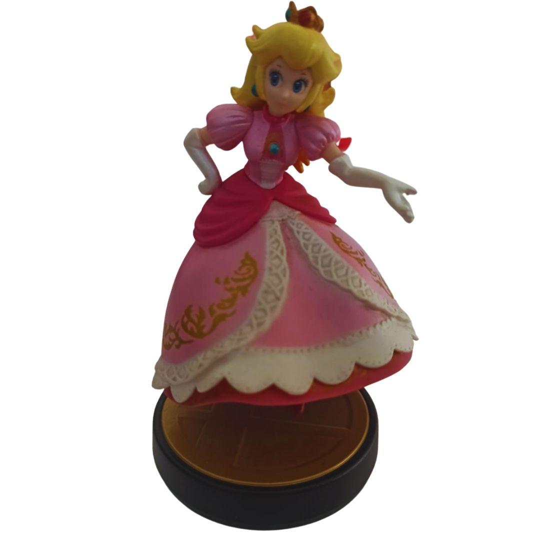 Amiibo - Peach - Super Smash Bros. - Usado