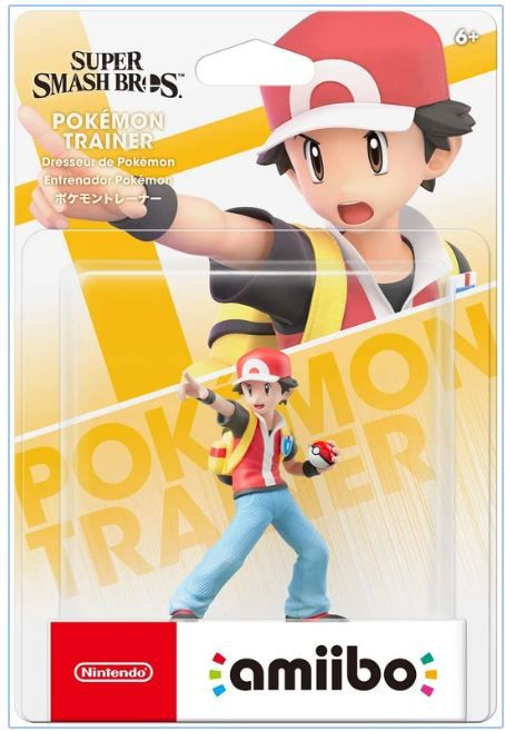 Amiibo - Pokemon Trainer (Super Smash Bros) - Envio Internacional