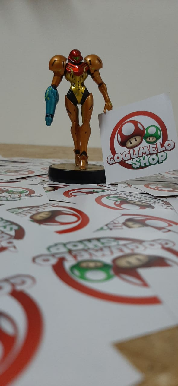Amiibo - Samus (Super Smash Bros. Series) - Usado