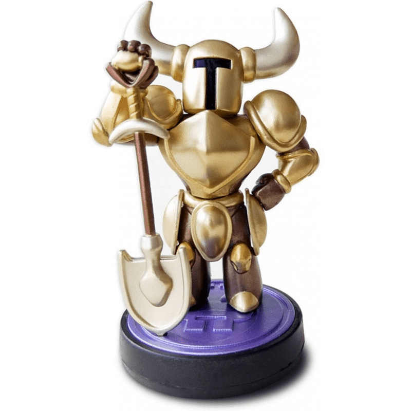 Amiibo Shovel Knight Gold Edition - (Shovel Knight Collection)
