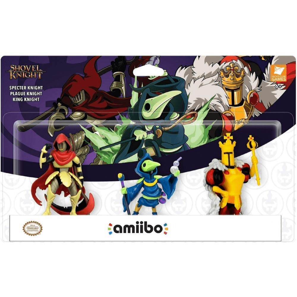 Amiibo Shovel Knight Treasure Trove 3-Pack