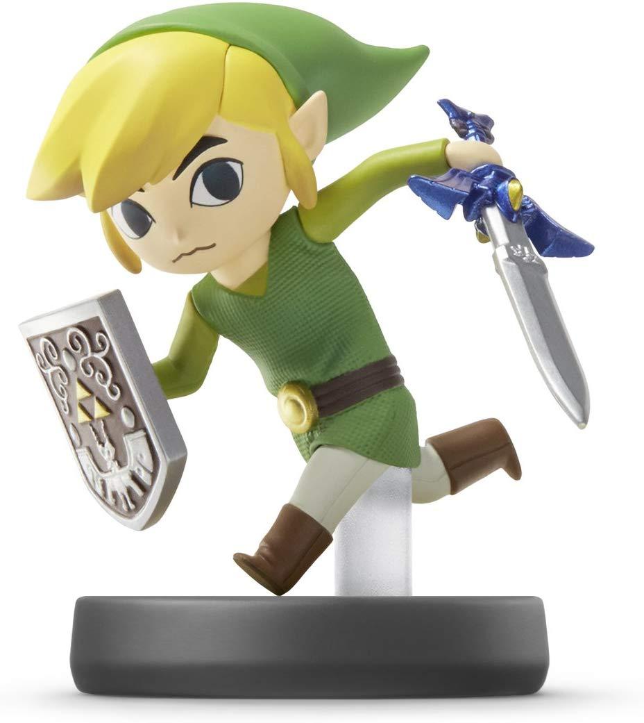 Amiibo - Toon Link - Super Smash Bros