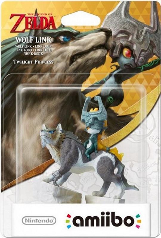 Amiibo - Wolf Link - Envio Internacional