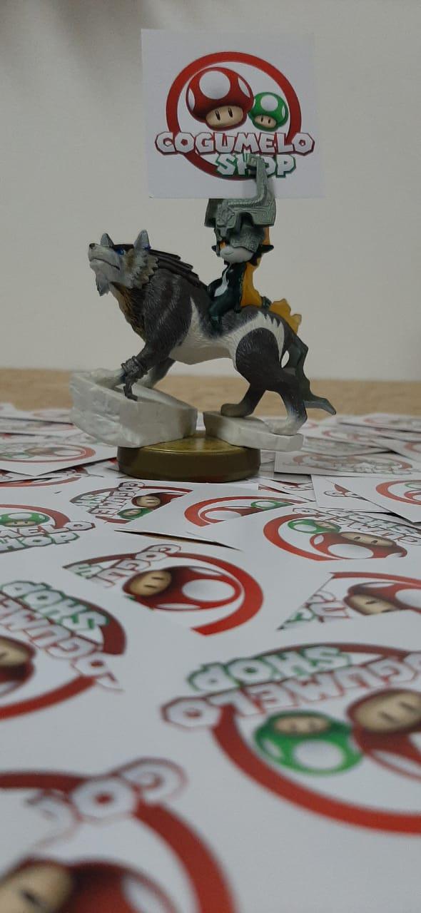 Amiibo - Wolf Link - Usado