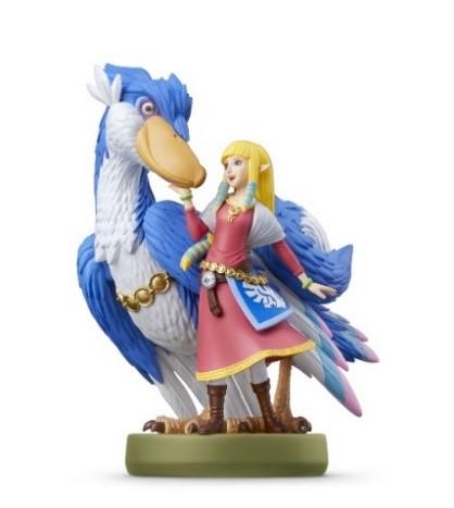 Amiibo - Zelda & Loftwing - Zelda: Skyward Sword HD - Pré Venda - LISTA DE ESPERA