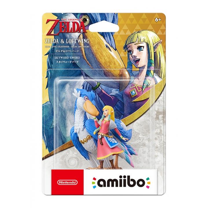 Amiibo - Zelda & Loftwing - Zelda: Skyward Sword HD