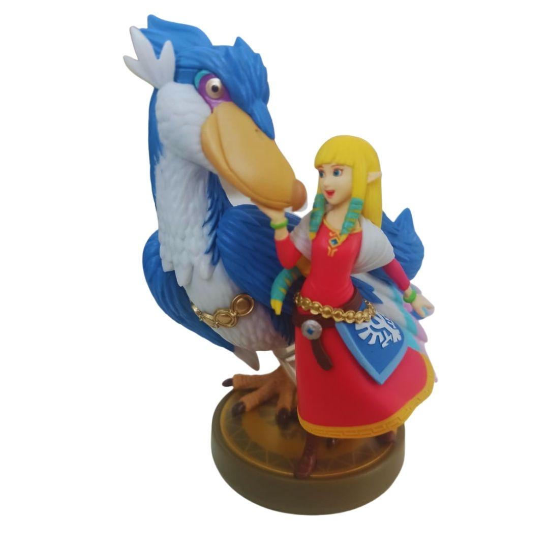 Amiibo - Zelda & Loftwing - Zelda: Skyward Sword HD - Aberto - Vitrine