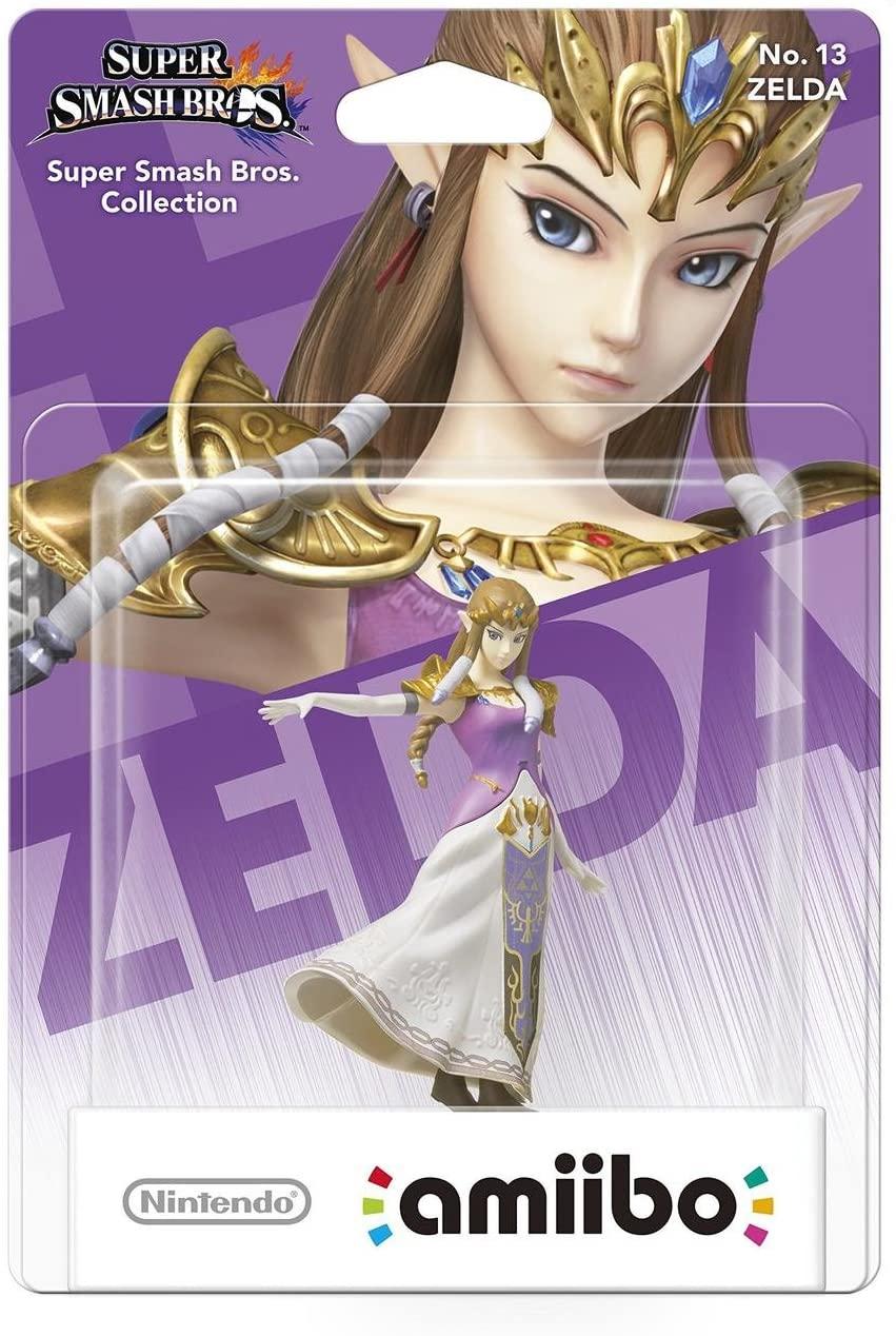 Amiibo - Zelda - Super Smash Bros