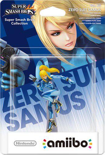 Amiibo - Zero Suit Samus