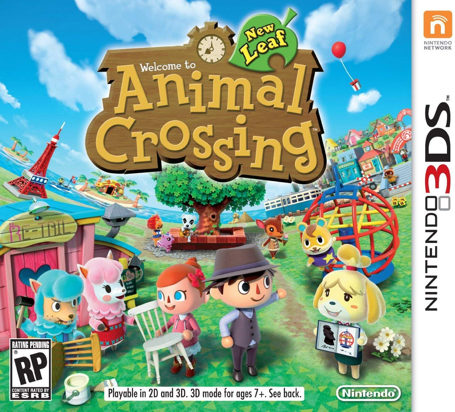 Animal Crossing - 3DS - USADO
