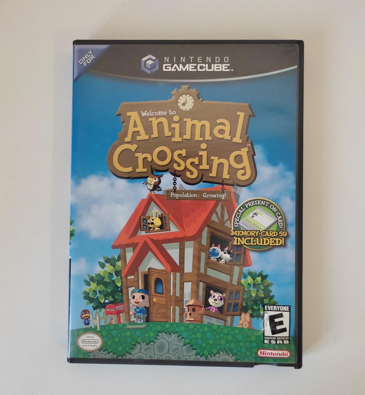 Animal Crossing - GameCube - Usado