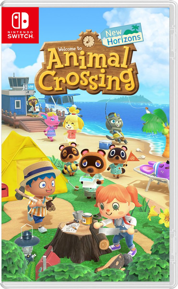 Animal Crossing: New Horizons - Nintendo Switch - Envio Internacional