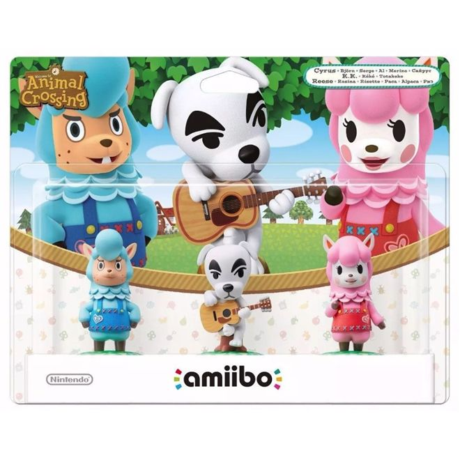 Animal Crossing Series 3-Pack - Amiibo