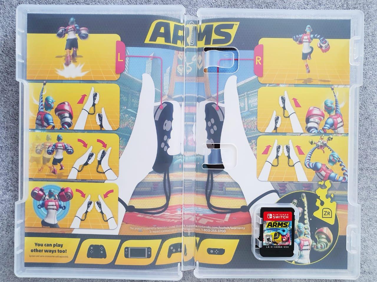 Arms - USADO -  Nintendo Switch