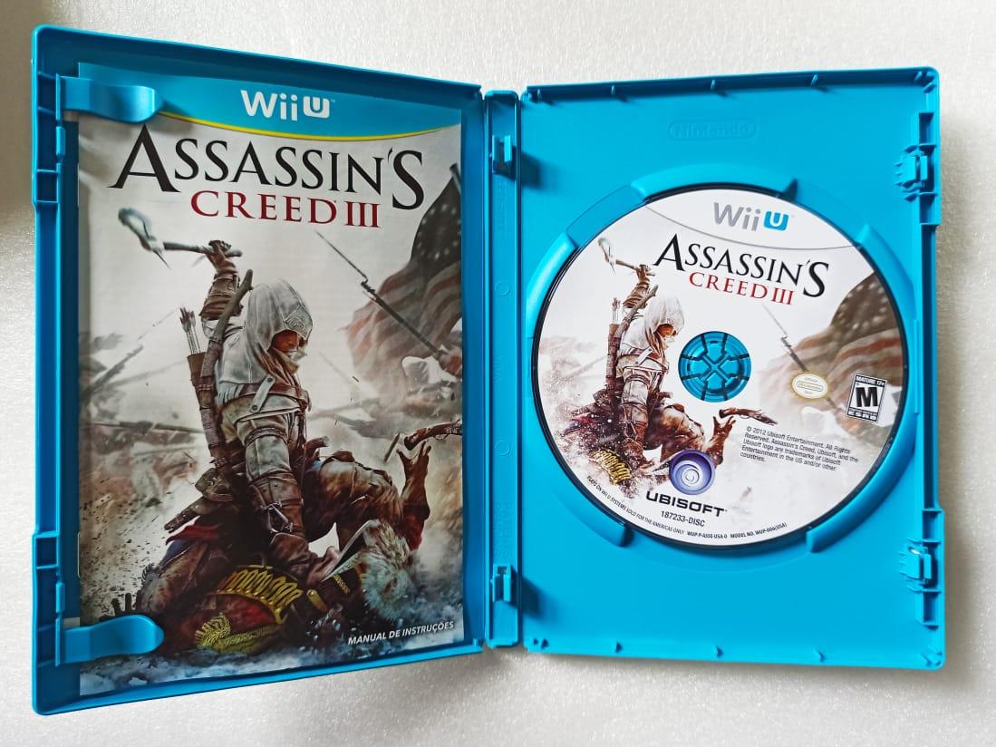 Assassin's Creed III - Nintendo Wii U - Usado