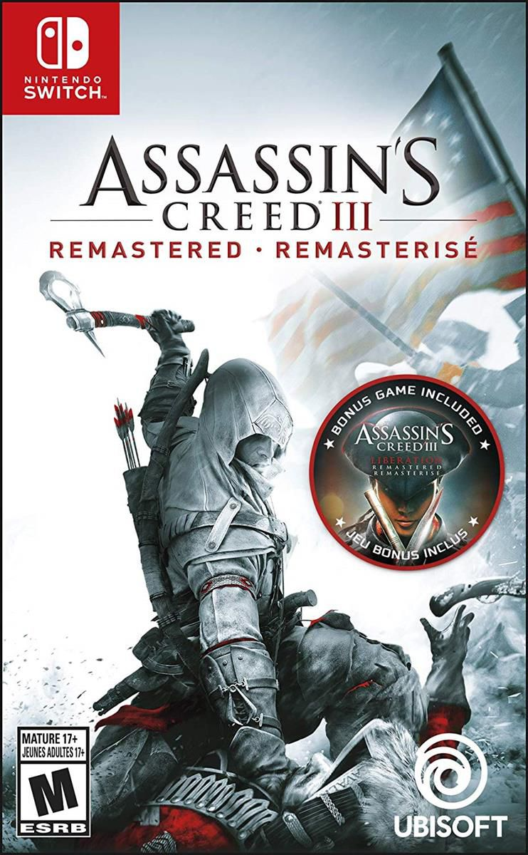 Assassin's Creed III: Remastered - Nintendo Switch