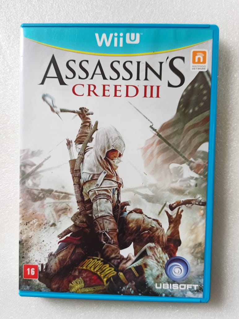 Assassin's Creed III - USADO - Nintendo Wii U