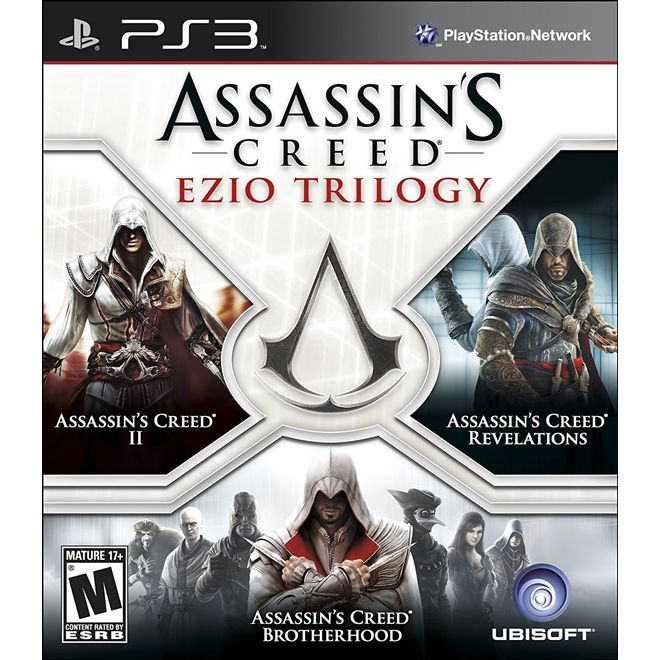 Assassins Creed Ezio Trilogy - Ps3