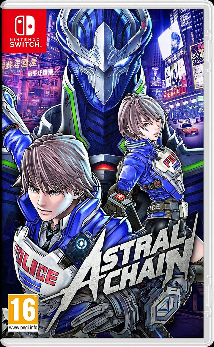 Astral Chain - Nintendo Switch - Envio internacional