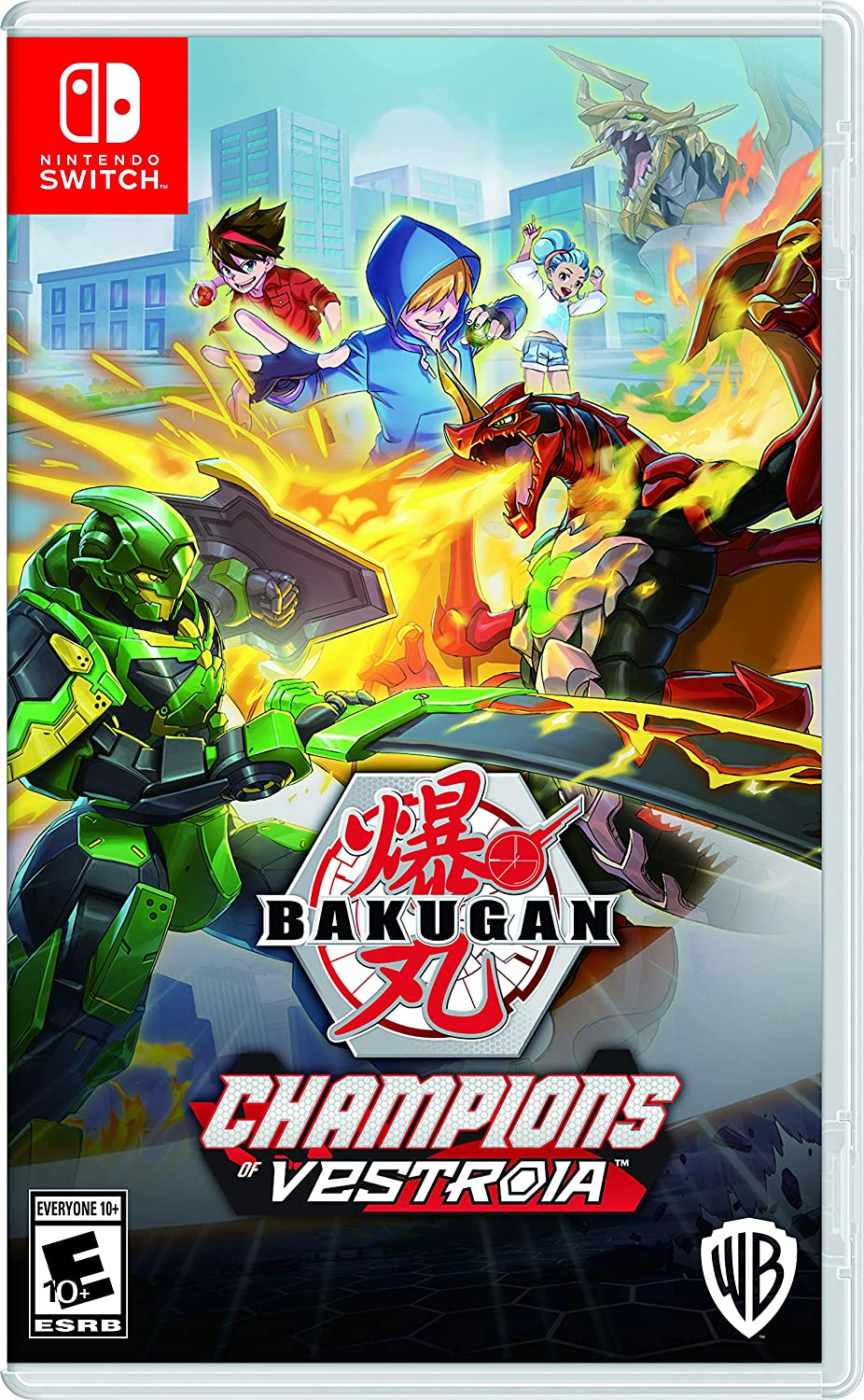 Bakugan: Champions of Vestroia - Nintendo Switch