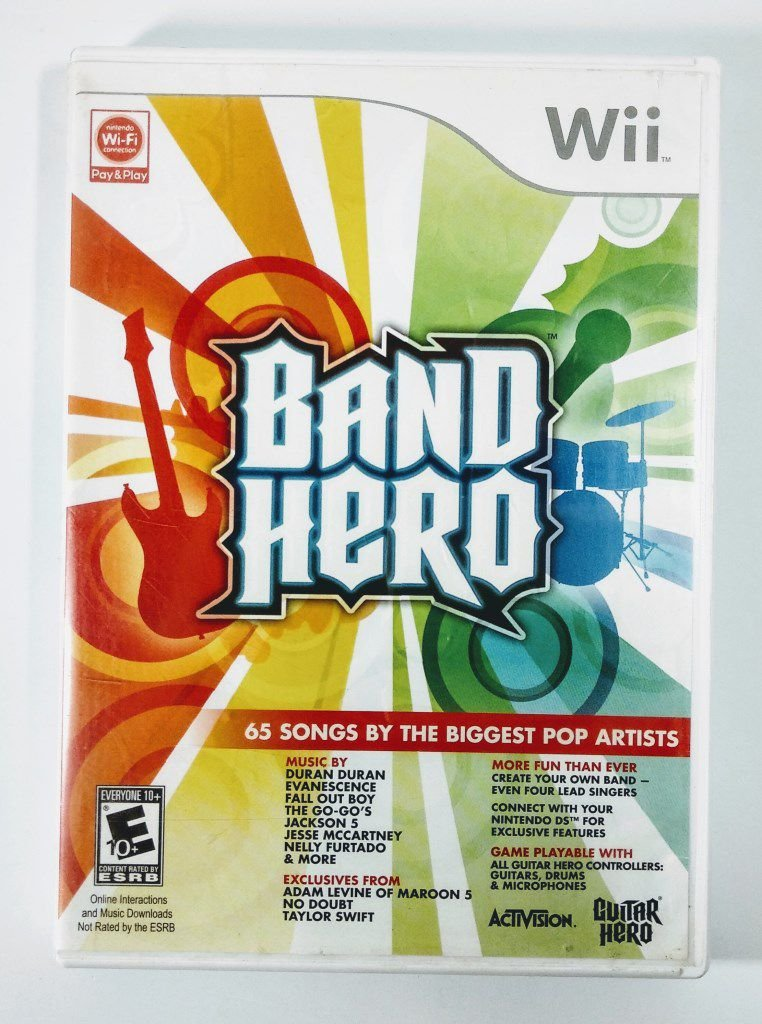Band Hero - USADO - Nintendo Wii