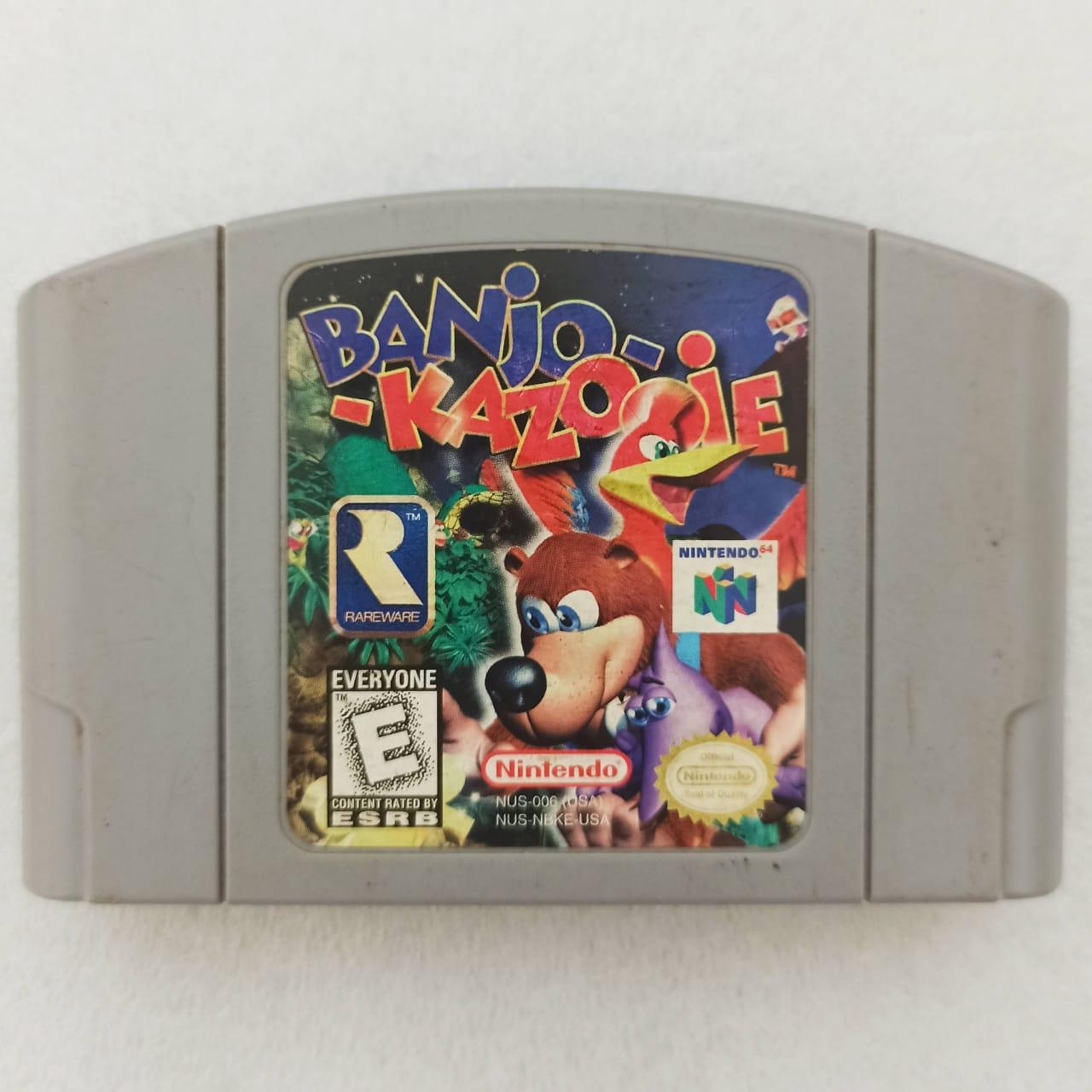 Banjo Kazooie - USADO - Nintendo 64