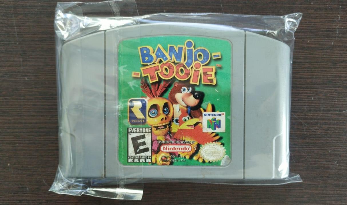 Banjo-Tooie - Cartucho - Nintendo 64 - Usado