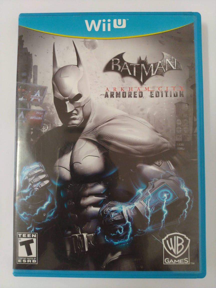 Batman Arkham City Armored Edition - USADO - Nintendo Wii U