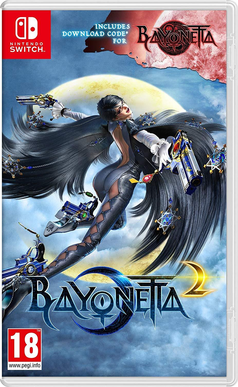 Bayonetta 2 + Bayonetta 1 EUR version  - Nintendo Switch - Envio Internacional