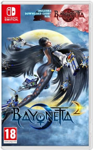Bayonetta 2 + Bayonetta 1 EUR version  - Nintendo Switch - ENVIO INTERNACIONAL
