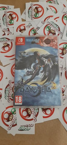 Bayonetta 2 + Bayonetta 1 - USADO - Nintendo Switch