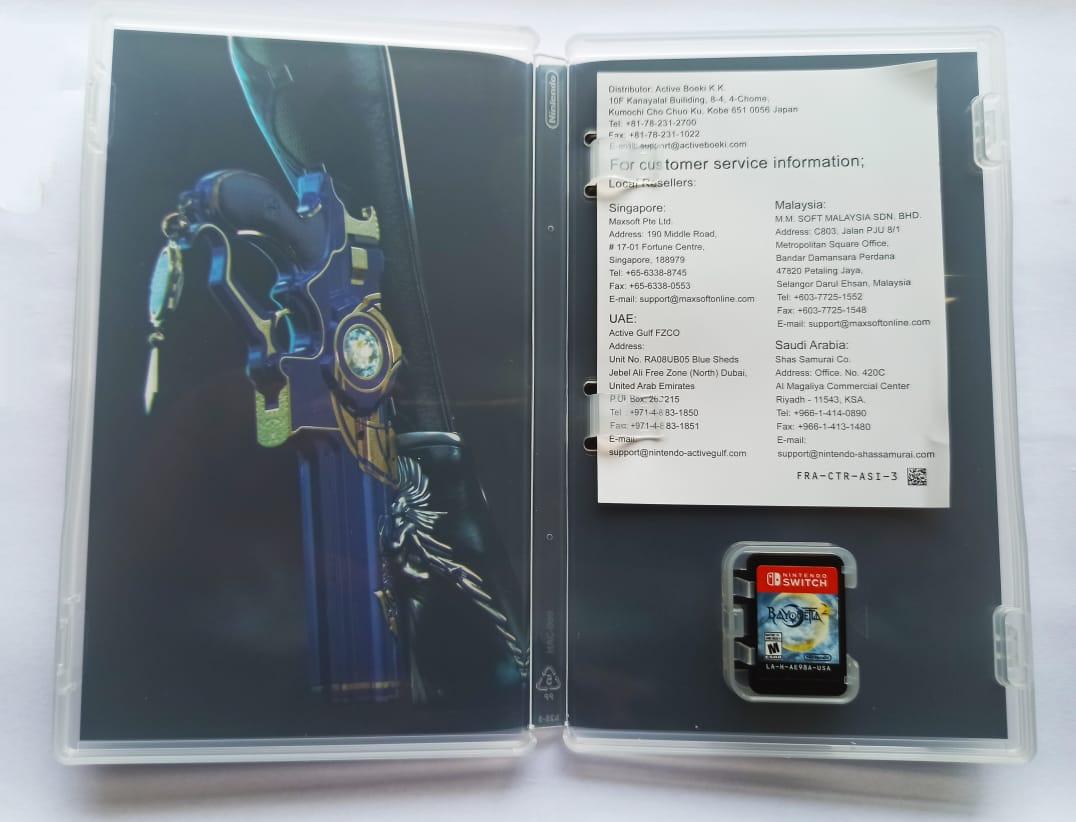 Bayonetta 2 - USADO - Nintendo Switch
