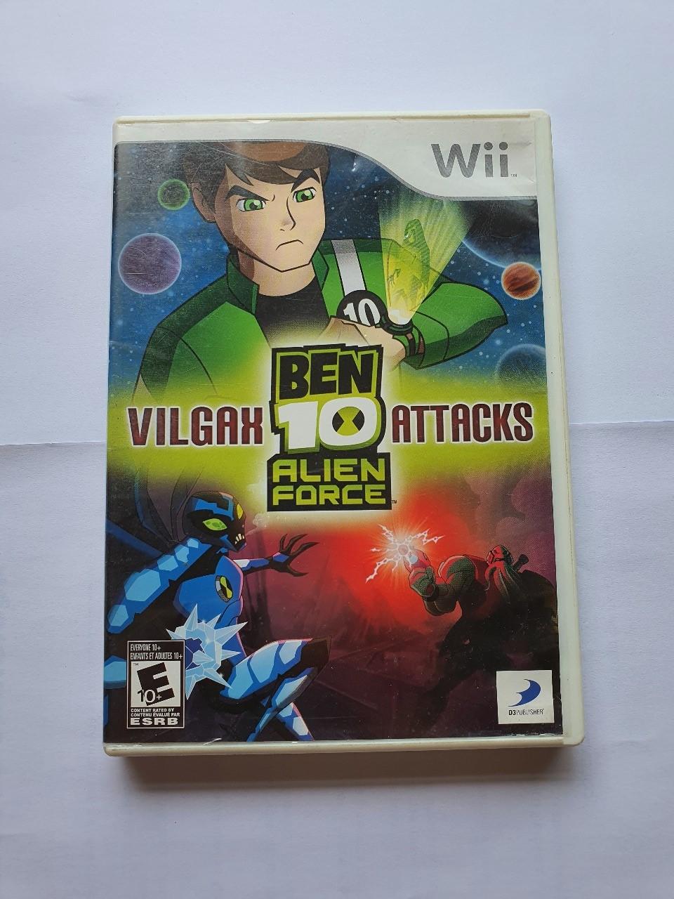 Ben 10 Alien Force: Vilgax Attacks - Usado - Wii