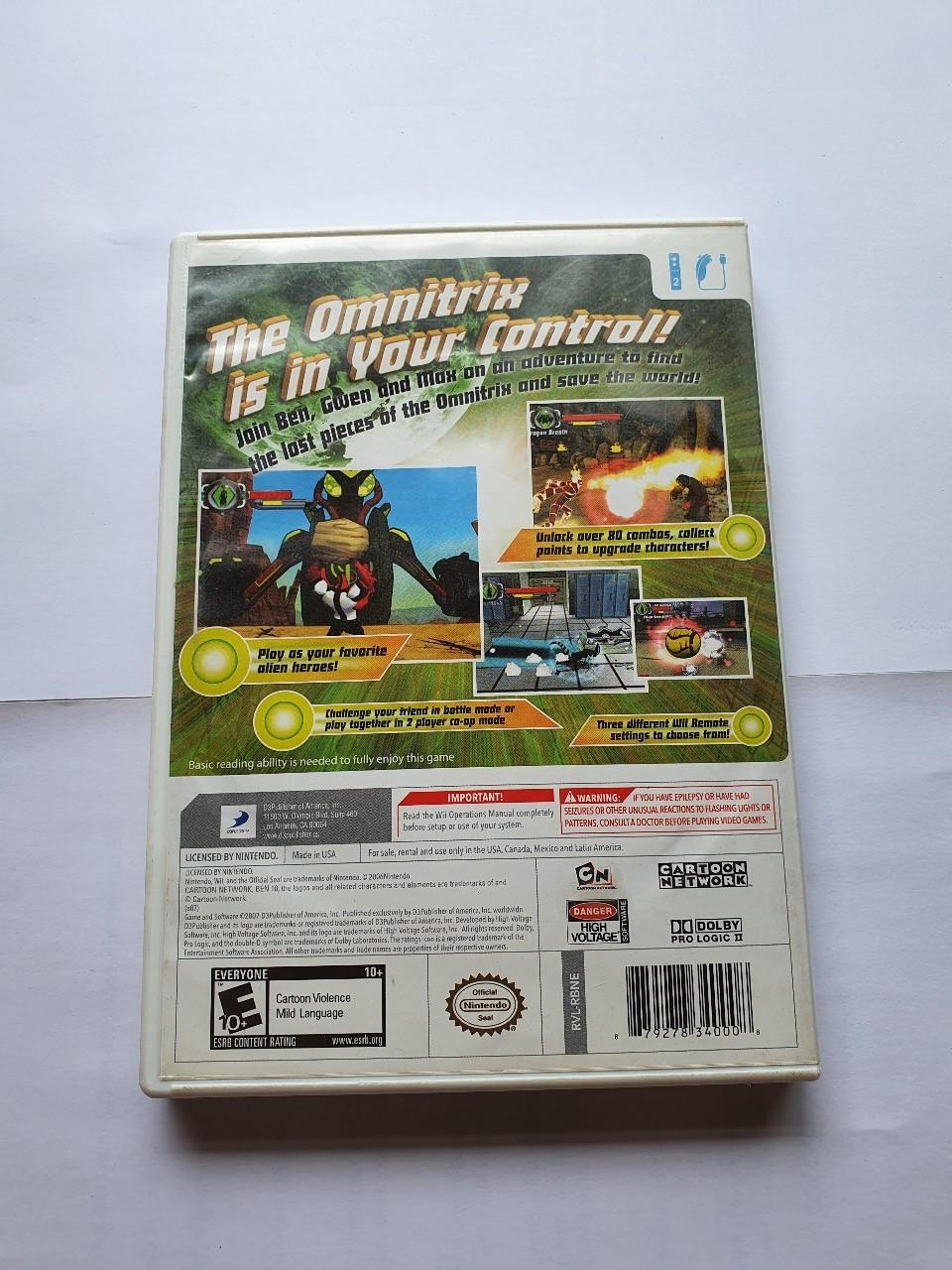 Ben 10 Protector of Earth  - Usado - Wii