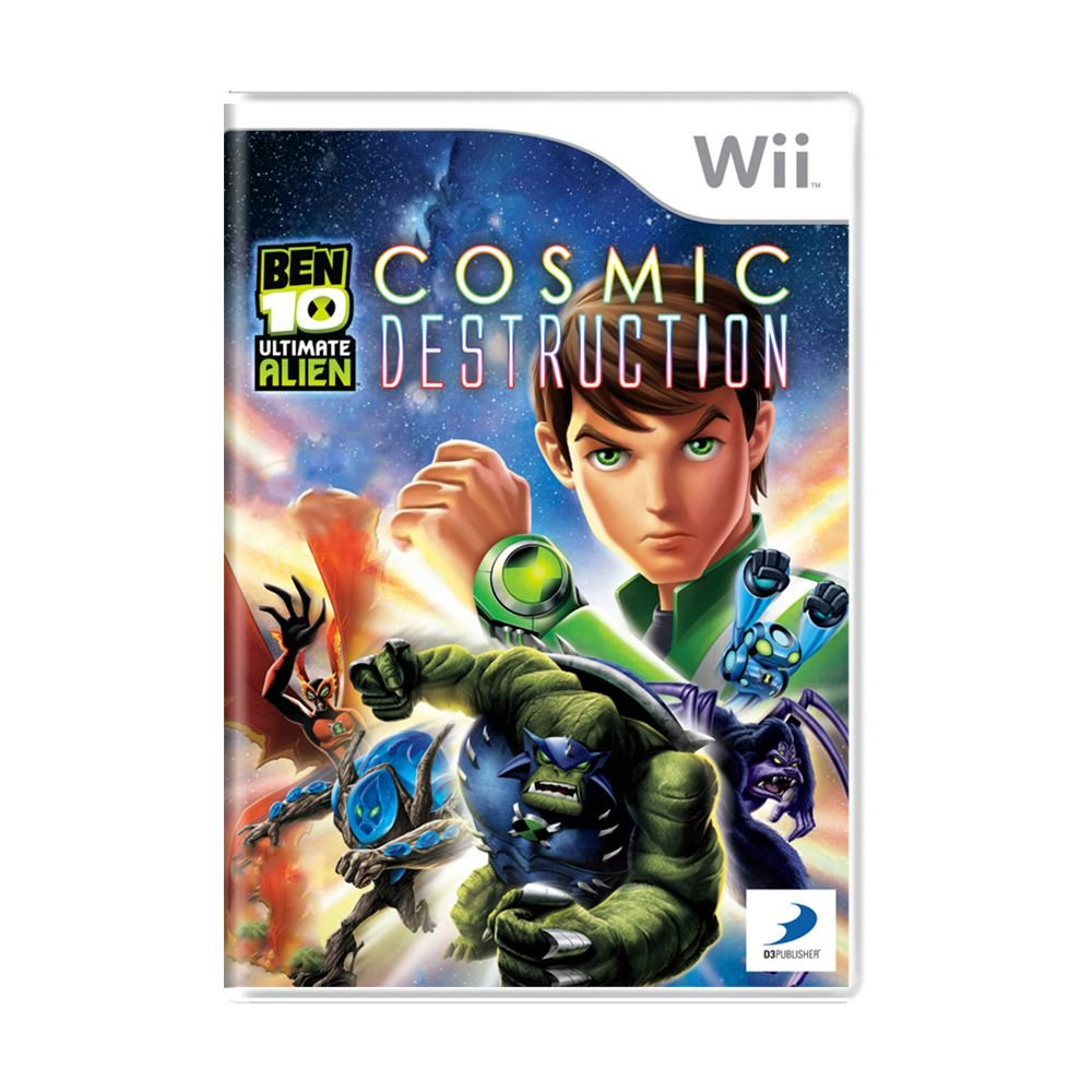 Ben 10 Utimate Alien Cosmic Destruction Wii
