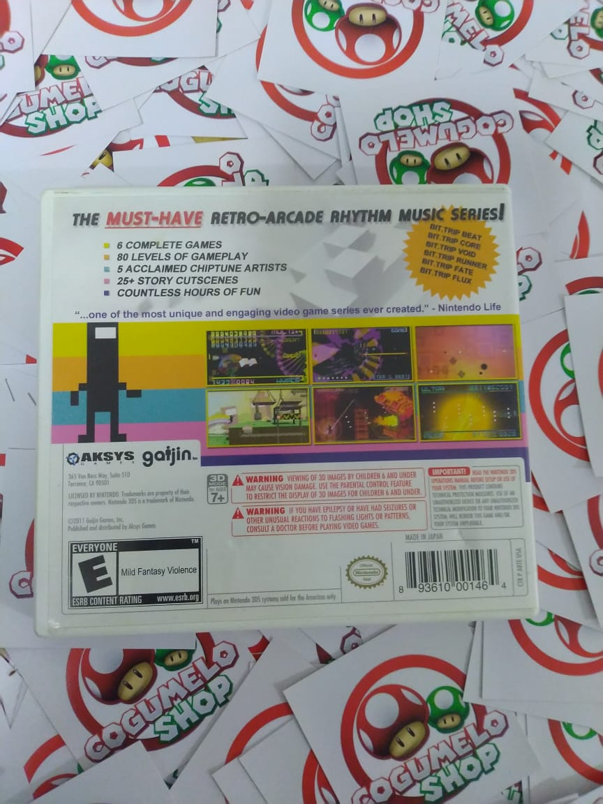 Bit.Trip Saga - USADO - Nintendo 3DS