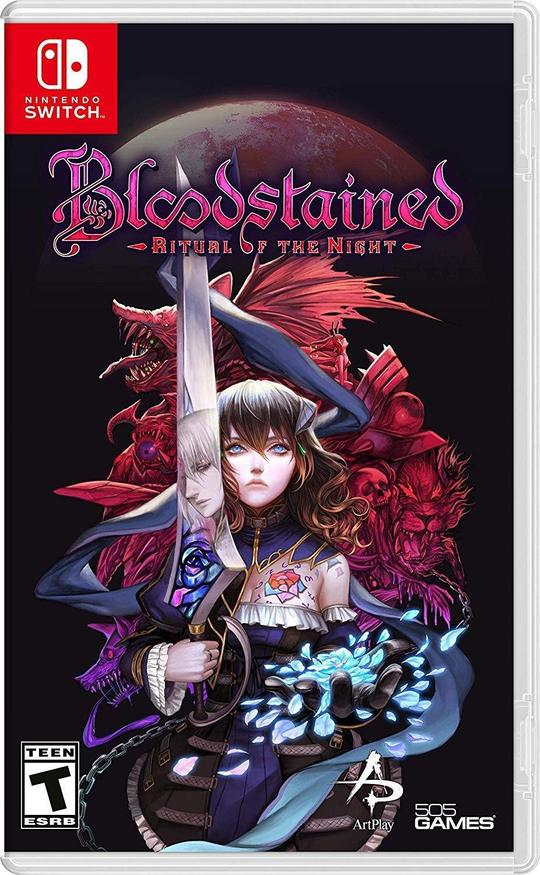 Bloodstained: Ritual of the Night (US) - Nintendo Switch - ENVIO INTERNACIONAL