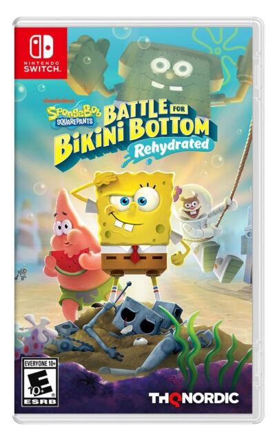 Bob Sponja - Battle for Bikini Bottom - Nintendo Switch