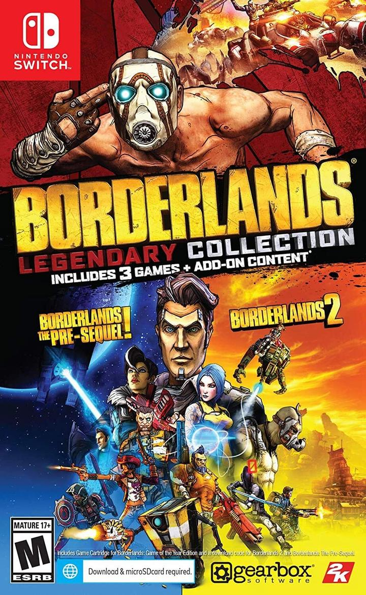 Borderlands Legendary Collection - Nintendo Switch - Envio internacional