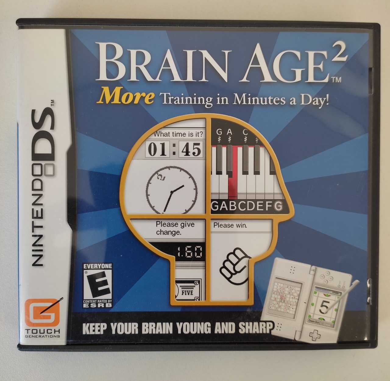 Brain Age 2 More Training in Minutes a Day! - Nintendo DS -  Usado