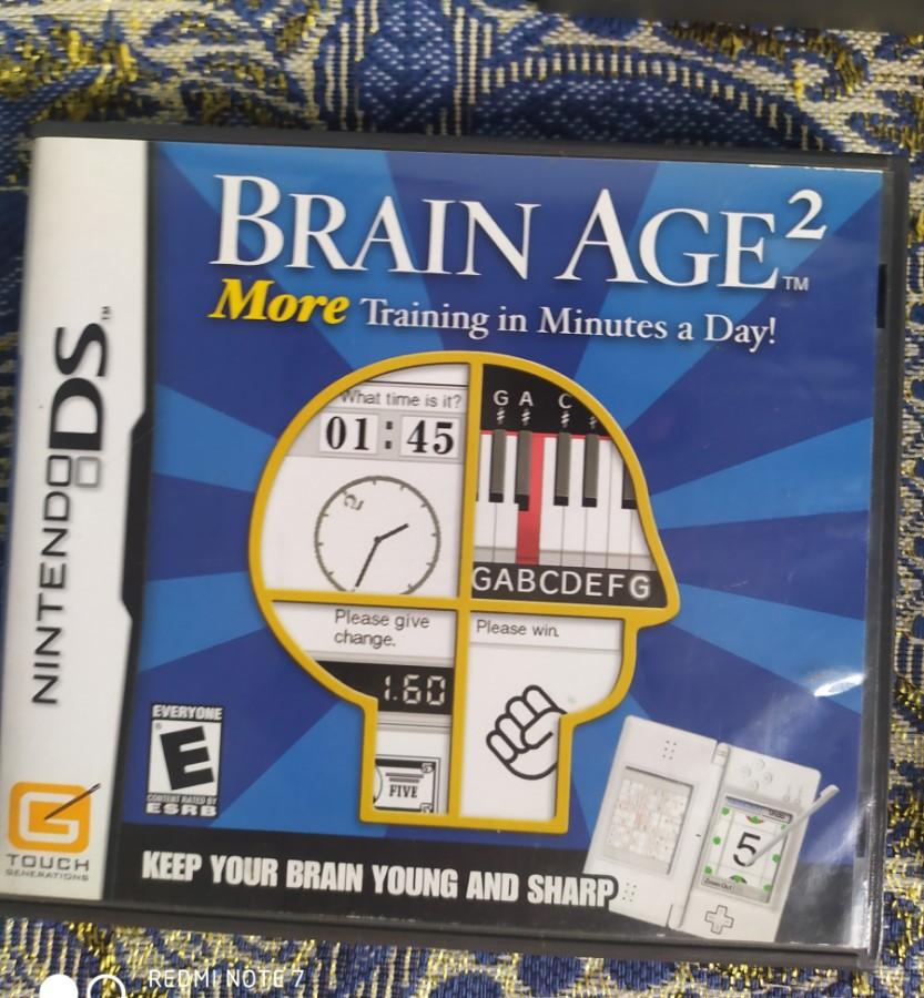 Brain Age 2 - Nintendo DS - Usado - Frete Grátis
