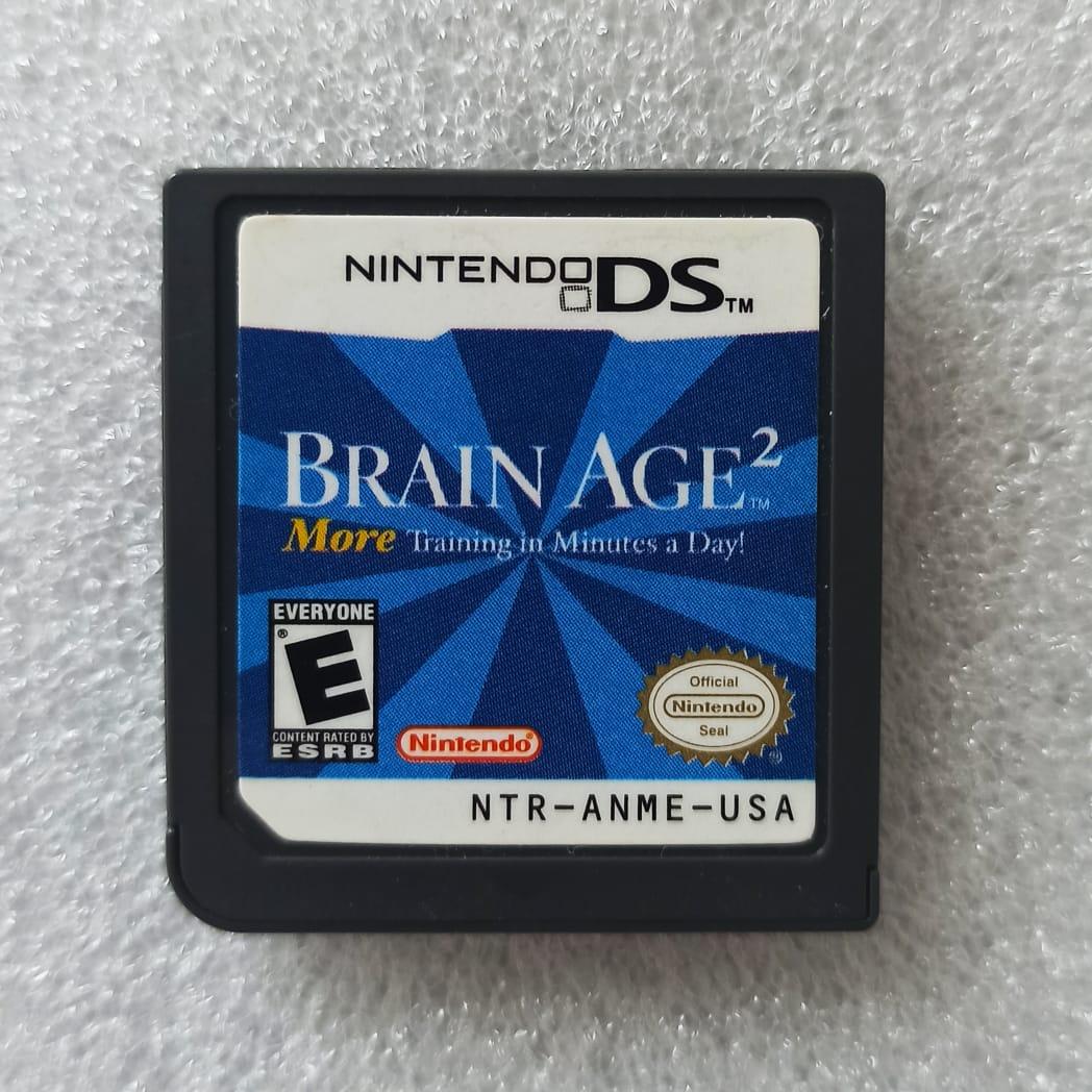 Brain Age 2 - USADO - Nintendo DS