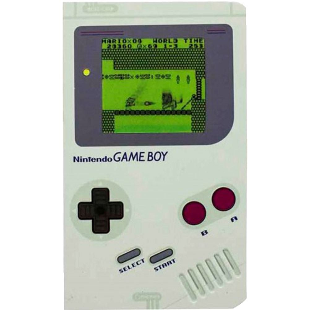 Caderno de Anotações - Nintendo Game Boy Original