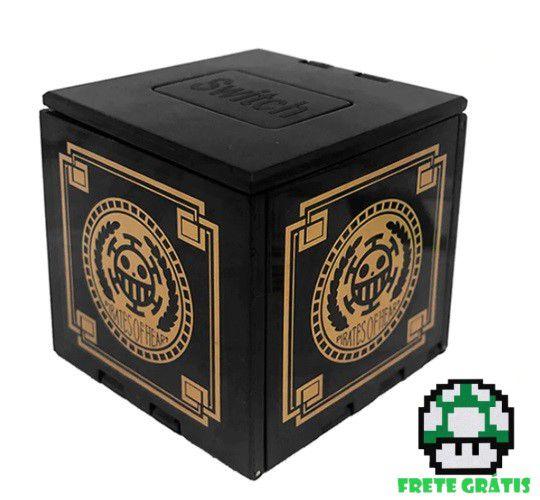 Caixa Porta Jogos - Nintendo Switch - Envio Internacional - Frete Grátis