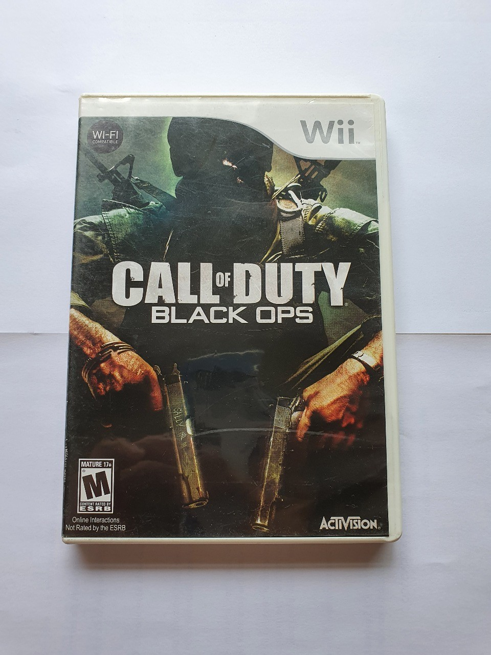 Call of Duty Black Ops - Usado - Wii