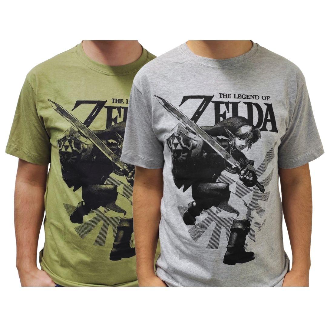 Camiseta Unissex Manga Curta - Link - The Legend of Zelda