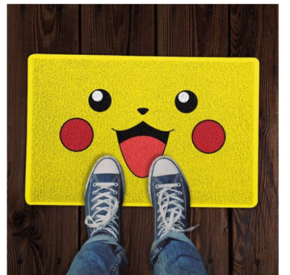 Capacho 60x40cm Pikachu